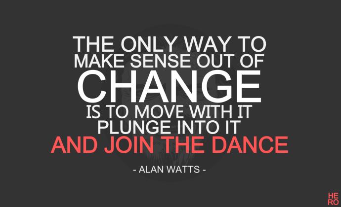 make change, alan watts, health room