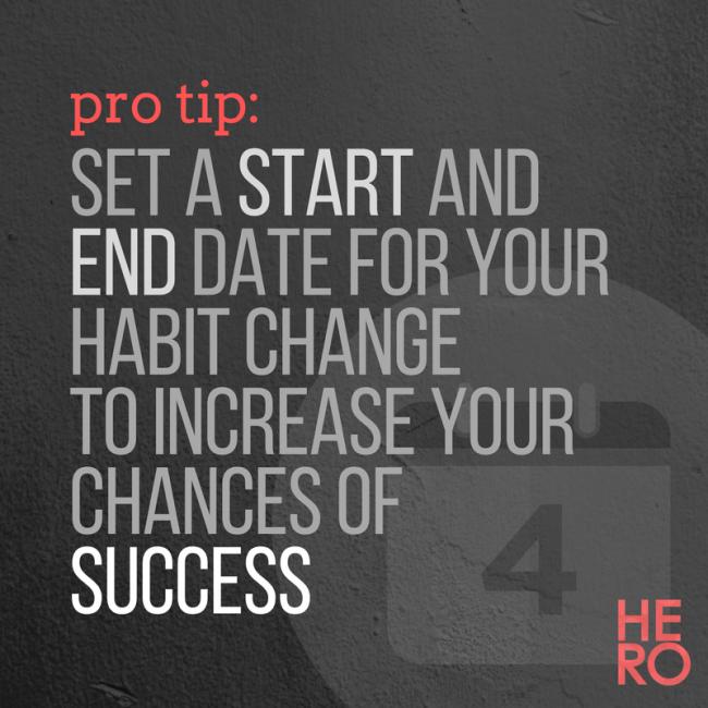 Forming Healthy Habits - 3