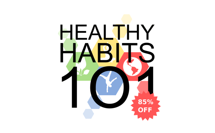 Healthy Habits 101 Black Friday Sale
