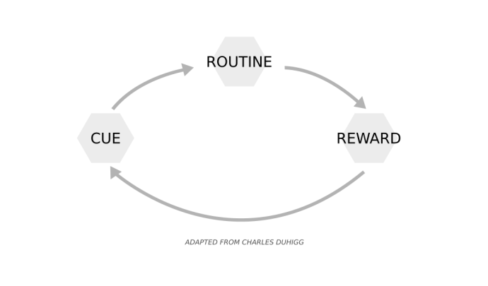 Habit Loop - How Habits Work, Health Room
