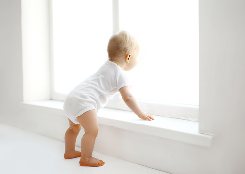 Child-Proofing Windows and Stairs