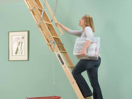 Safety First: Attic Pull Down Ladders