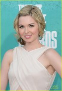 UNIVERSAL CITY, CA - JUNE 03: Actress Kirsten Prout arrives at the 2012 MTV Movie Awards held at Gibson Amphitheatre on June 3, 2012 in Universal City, California. (Photo by Jason Merritt/Getty Images)