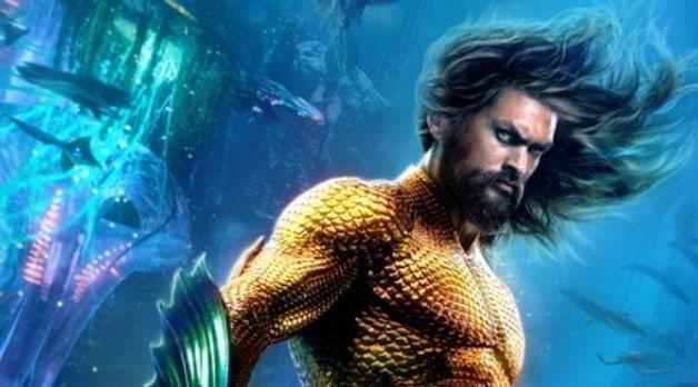 """Arthur Curry ergue-se das profundezas em novo banner de """"Aquaman ..."""