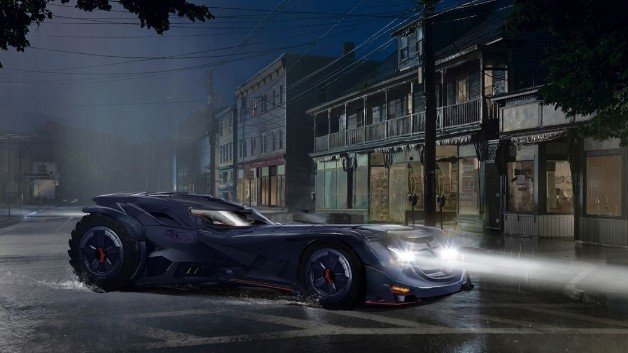 Titans Batmobile