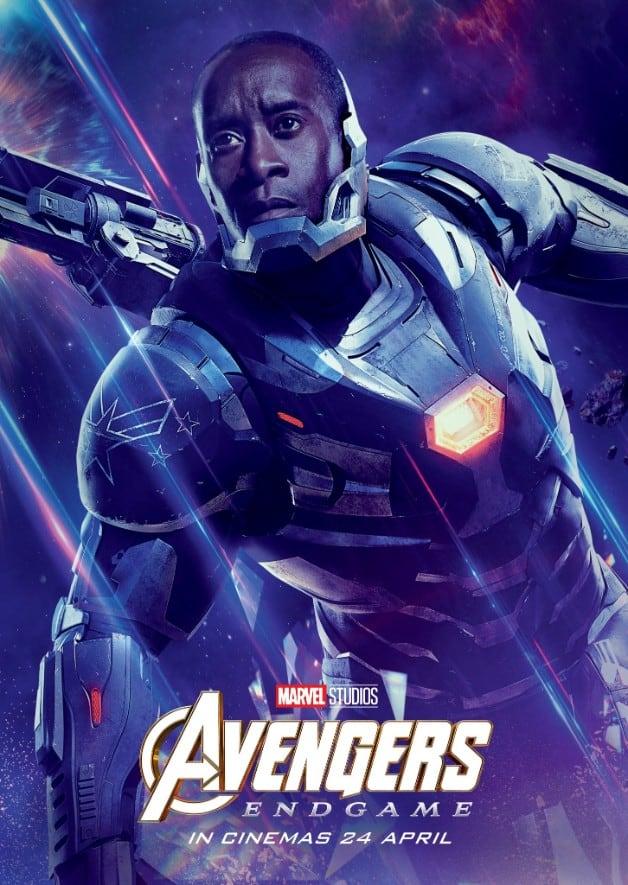 Avengers Endgame Don Cheadle War Machine