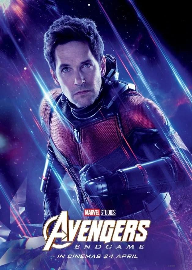 Avengers Endgame Paul Rudd Ant-Man