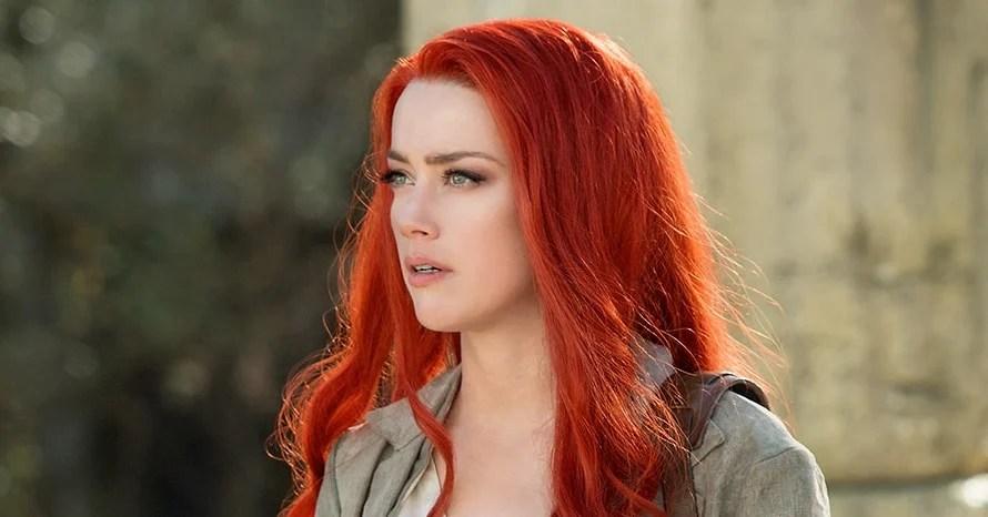 Aquaman Amber Heard Mera Johnny Depp Jason Momoa
