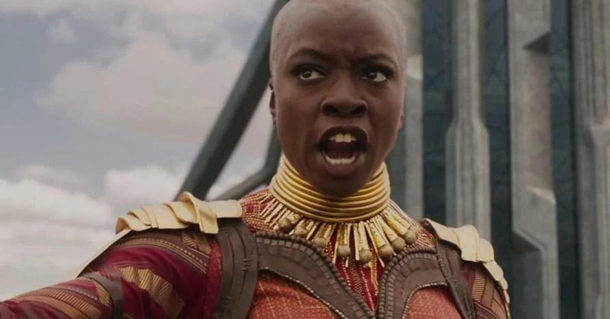 Danai Gurira Okoye Black Panther 2 Chadwick Boseman Wakanda Forever