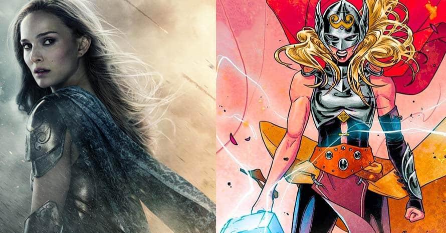Natalie Portman Jane Foster Thor Love and Thunder Chris Hemsworth Mjolnir Taika Waititi