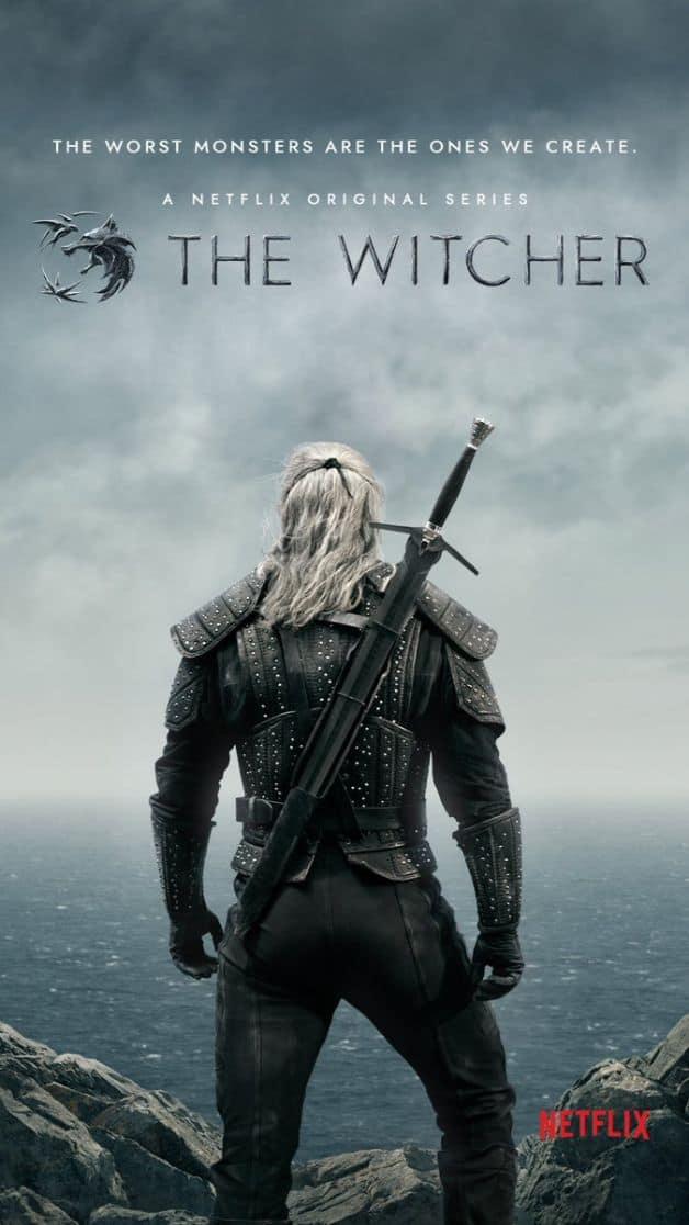 The Witcher Poster Netflix Henry Cavill