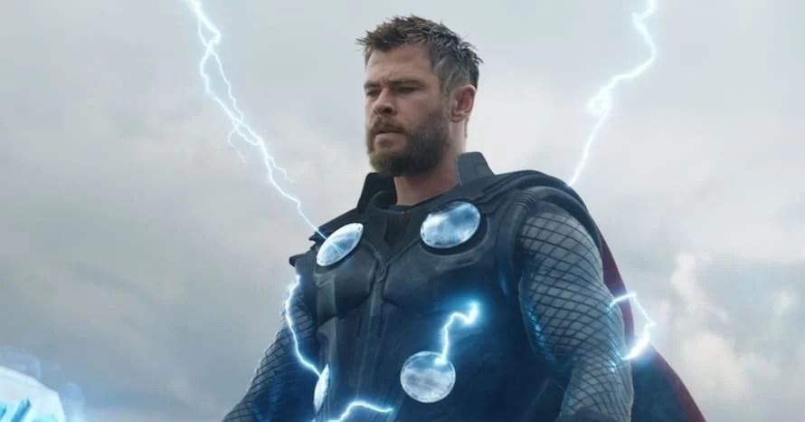Thor Chris Hemsworth Avengers Marvel Studios Love and Thunder