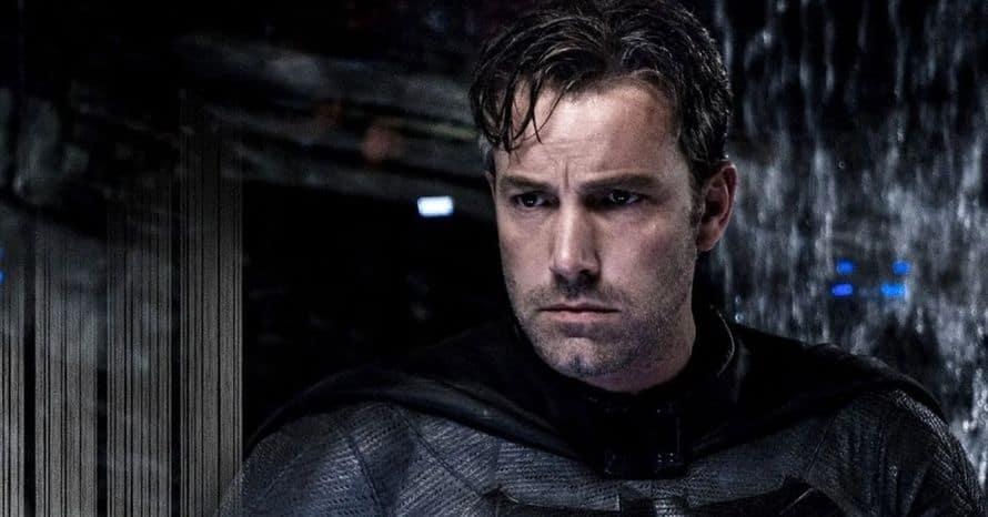 New 'Justice League' Image Shows Off Ben Affleck's Batman & Batmobile revealed 1.