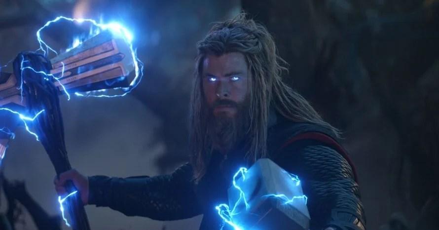 Chris Hemsworth Fat Thor 4 Avengers Endgame Infinity War Chris Pratt Ryan Reynolds Ragnarok Valkyrie Love and Thunder