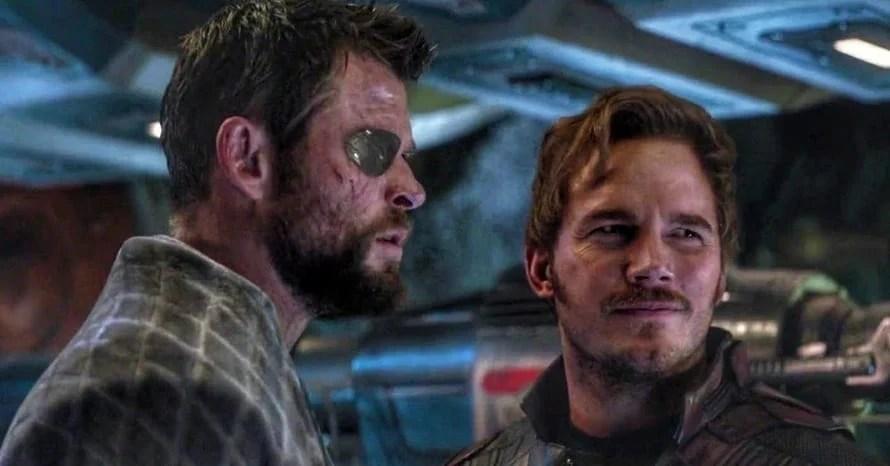 Chris Pratt Chris Hemsworth Avengers Endgame Thor: Love and Thunder