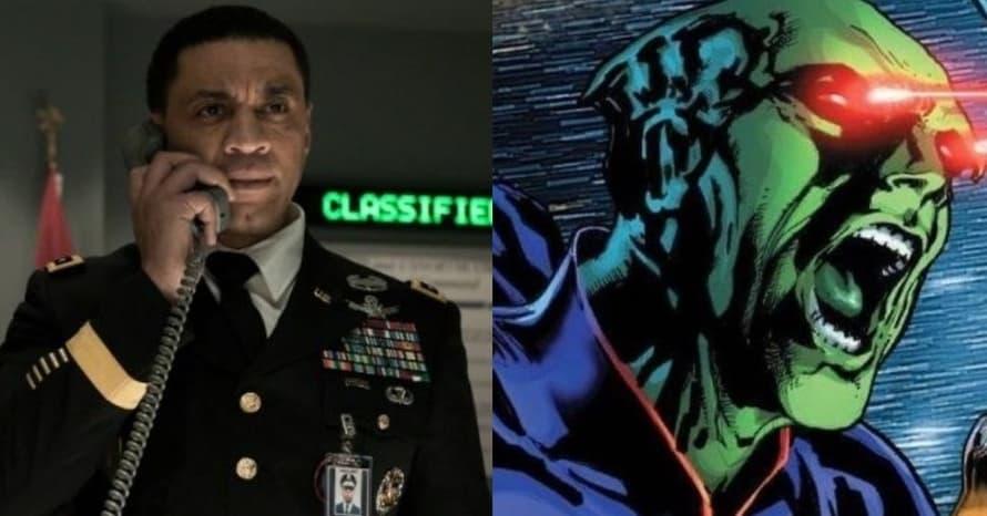 Harry Lennix General Swanwick Martian Manhunter Zack Snyder Justice League's Batman v Superman