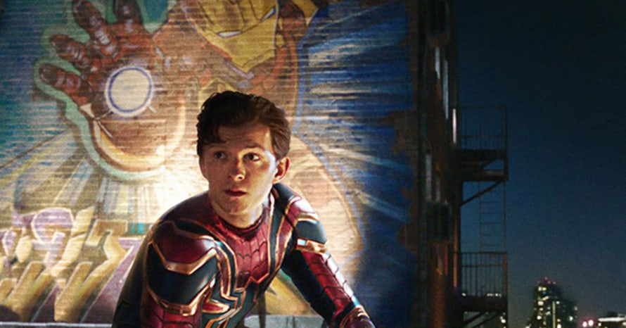 Spider-Man Robert Downey Jr Iron Man Tom Holland Disney MCU No Way Home