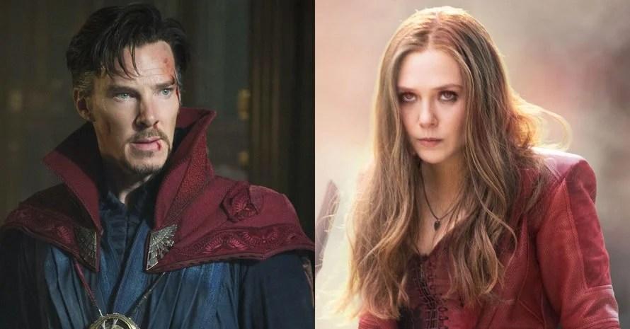 Doctor Strange Scarlet Witch Avengers Endgame Kevin Feige WandaVision