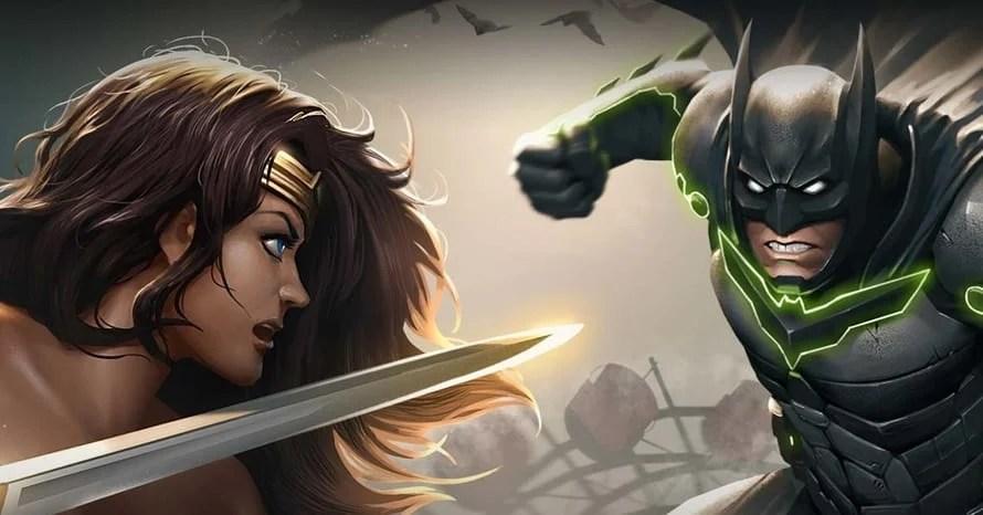 Mortal Kombat Injustice Batman Superman Wonder Woman