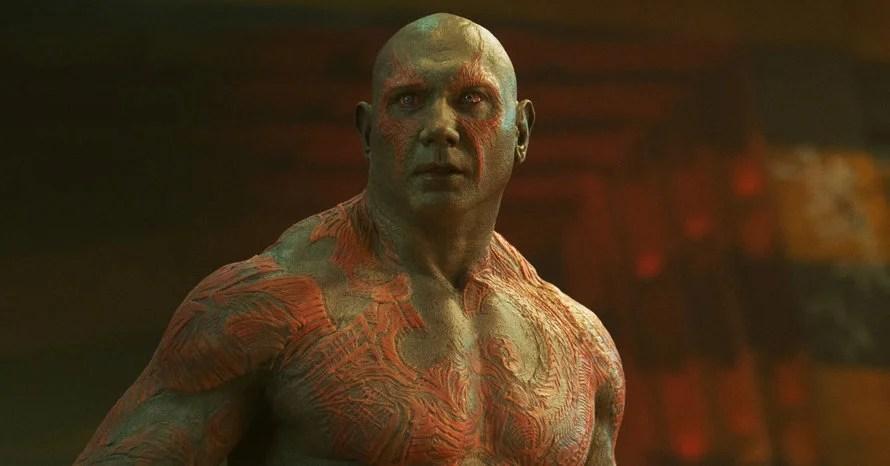 Dave Bautista James Gunn Guardians of the Galaxy vol. 3 Drax WWE