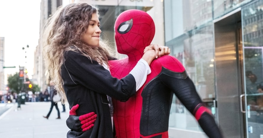 Zendaya Tom Holland Spider-Man 3 Mary Jane Watson