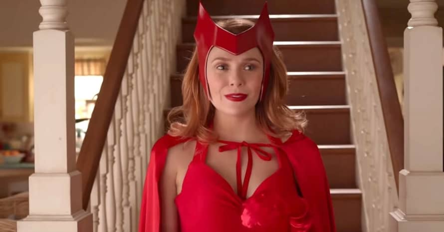 'WandaVision' Edit Provides Clearer Look At Elizabeth Olsen's Scarlet Witch Suit