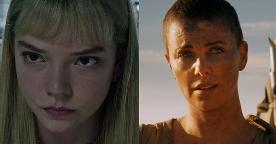 Anya Taylor-Joy Charlize Theron Furiosa Mad Max Fury Road George Miller