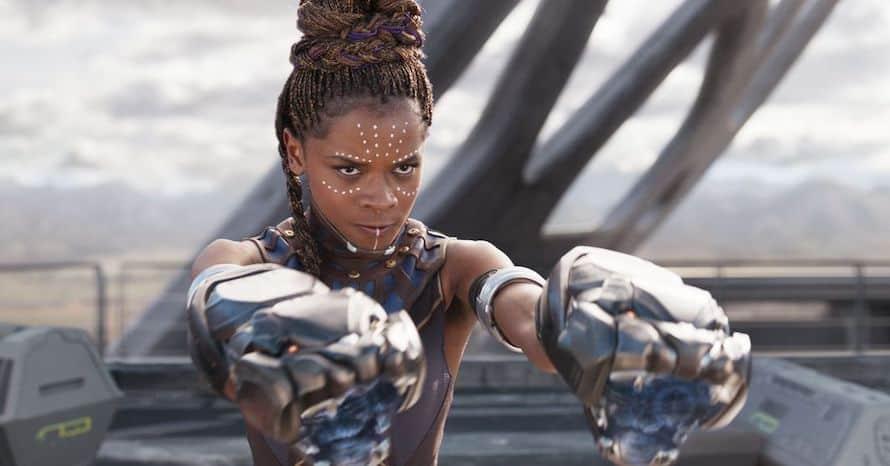Letitia Wright Black Panther Avengers Tenoch Huerta Ryan Coogler