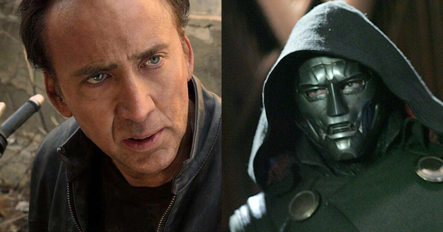 Early 'Fantastic Four' Concept Art Shows Nicolas Cage As Doctor Doom