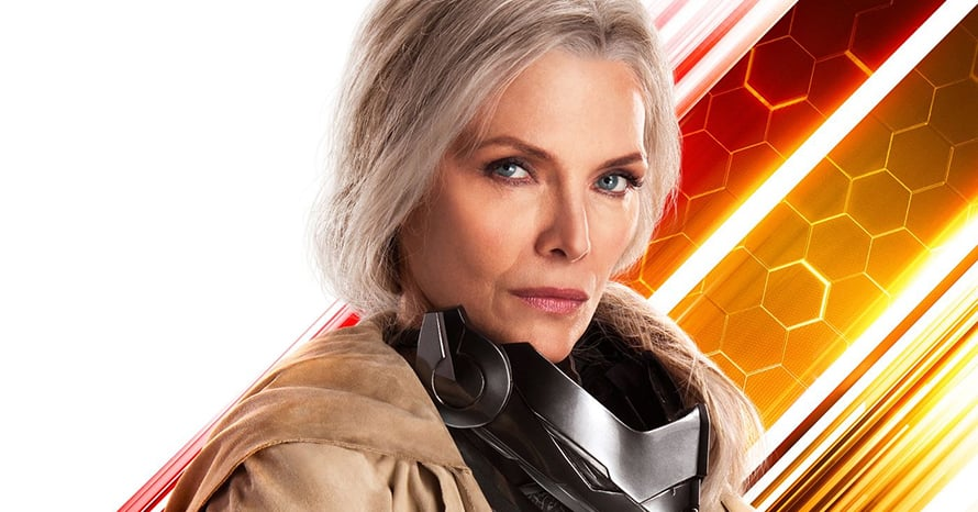 Michelle Pfeiffer Shares 'Ant-Man And The Wasp: Quantumania' Training Video
