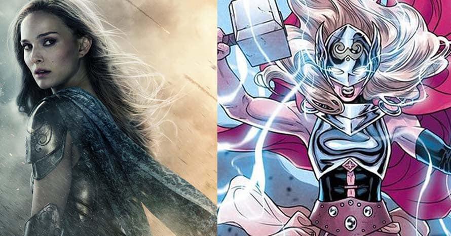 Natalie Portman Mighty Thor Love and Thunder Chris Hemsworth Jane Foster Thor: Love and Thunder