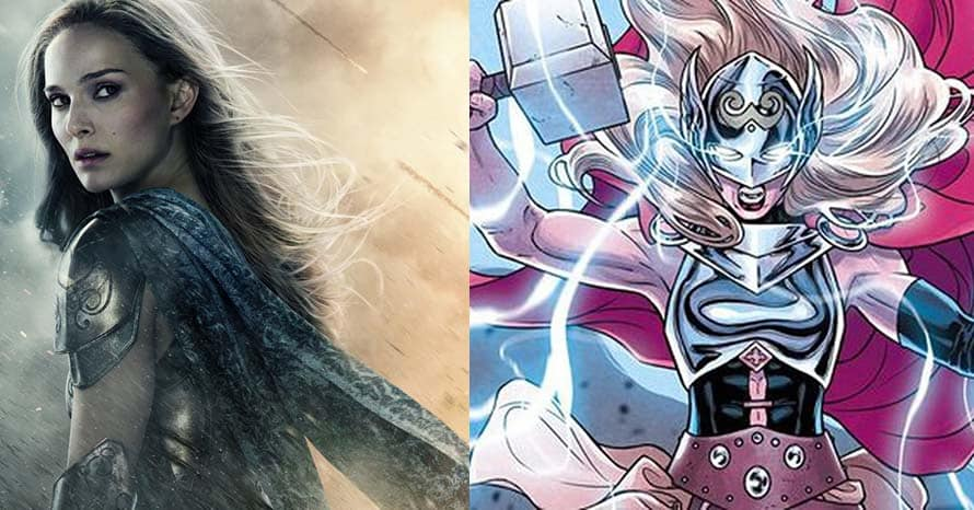 Natalie Portman Suits Up As Mighty Thor In New 'Love And Thunder' Promo Art