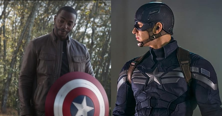 The Falcon and The Winter Soldier Captain America Anthony Mackie
