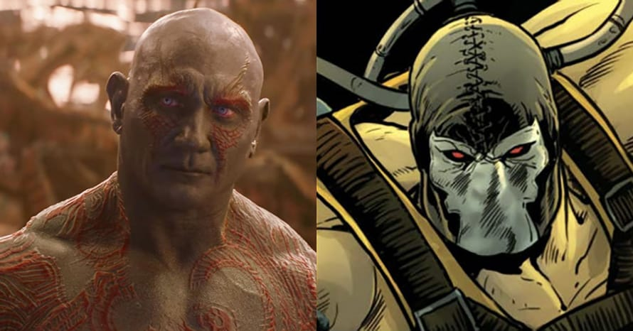 'Avengers' Star Dave Bautista Becomes Bane In 'The Suicide Squad' Pic #Hurry 4