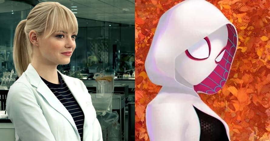 See Emma Stone As Spider-Gwen For Tom Holland's 'Spider-Man 3'