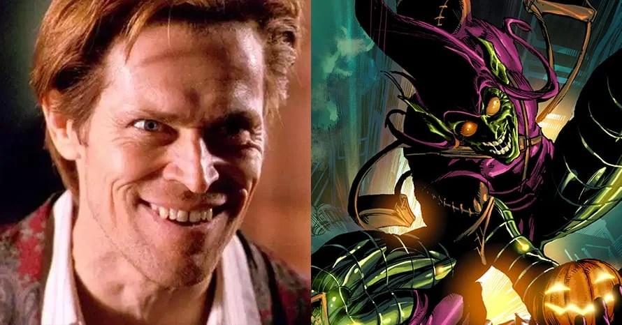 Willem Dafoe Green Goblin Spider-Man 3 Tom Holland