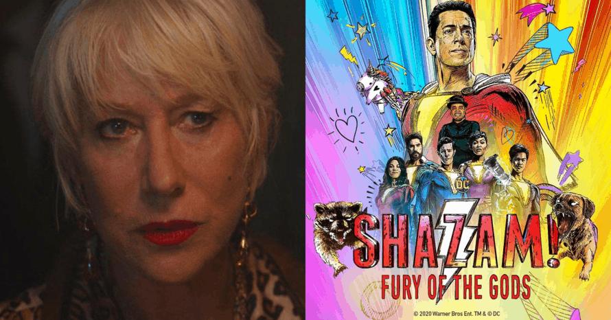 'Shazam! Fury Of The Gods': Helen Mirren Talks Playing The Main Villain