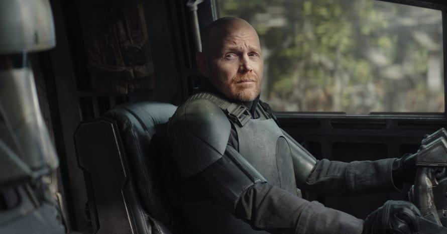 Bill Burr Questions Gina Carano's Exit From 'The Mandalorian'