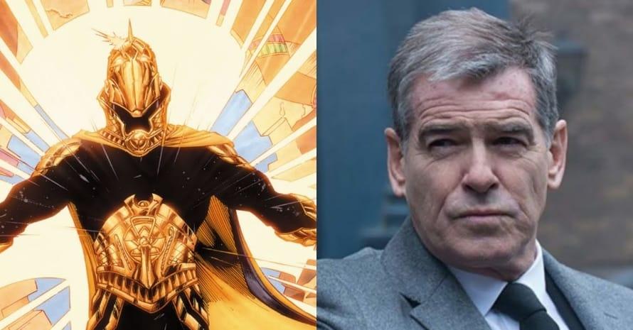 See Pierce Brosnan As Doctor Fate For Dwayne Johnson's 'Black Adam'