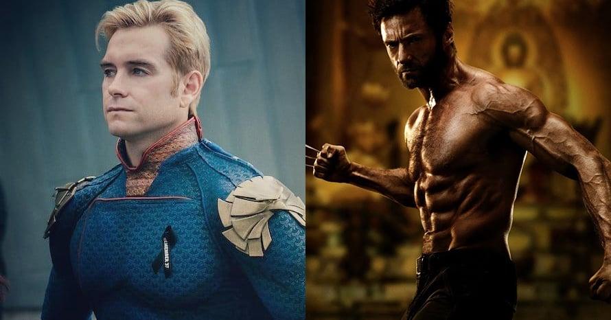 Wolverine Antony Starr The Boys Hugh Jackman Homelander