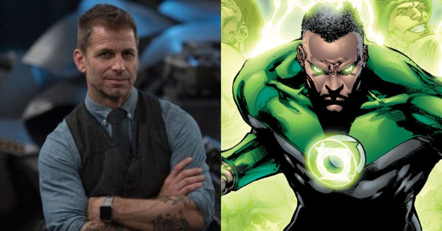 'Justice League': Zack Snyder's Green Lantern Actor Shares BTS Photo From Cut Scene