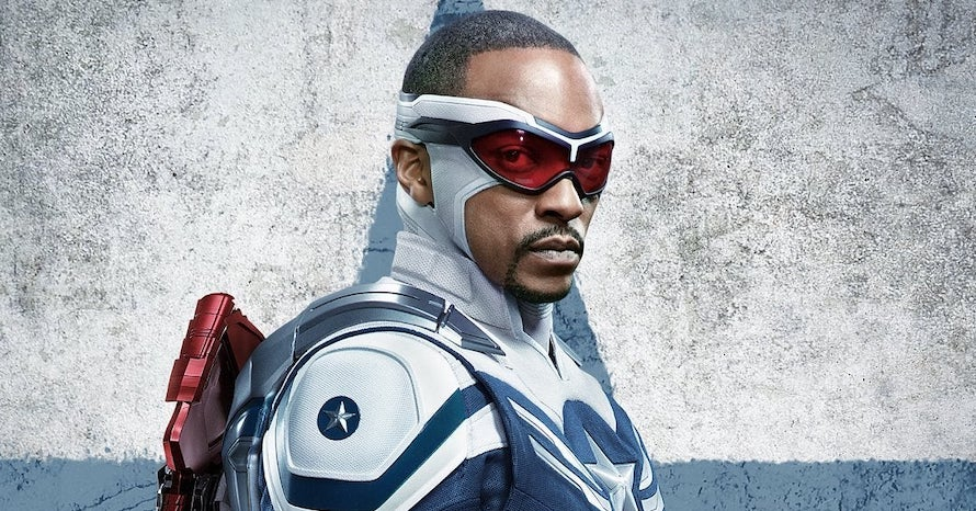Anthony Mackie Says There's No Muscle Suit In His Captain America Outfit