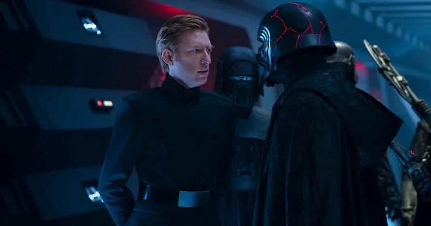 Domnhall Gleeson General Hux Star Wars