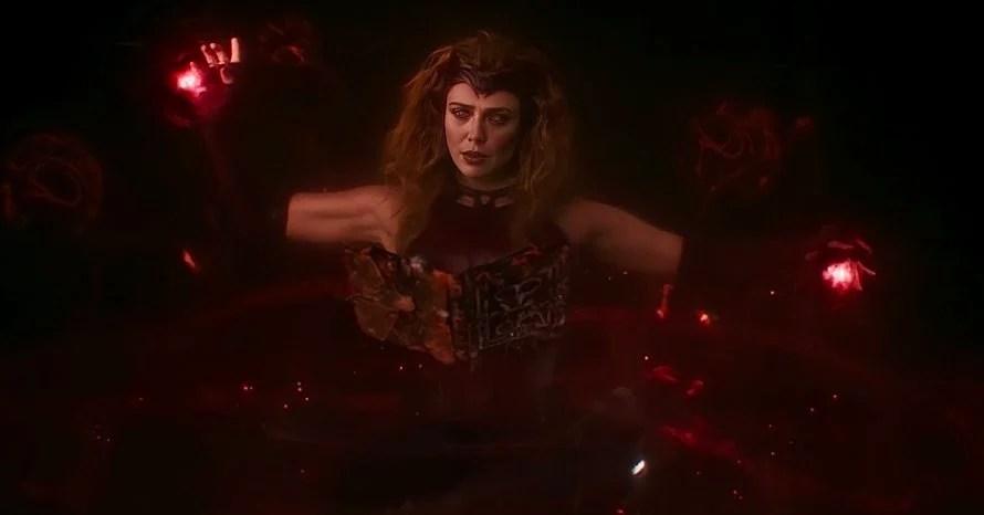Elizabeth Olsen Sam Raimi WandaVision Scarlet Witch Doctor Strange
