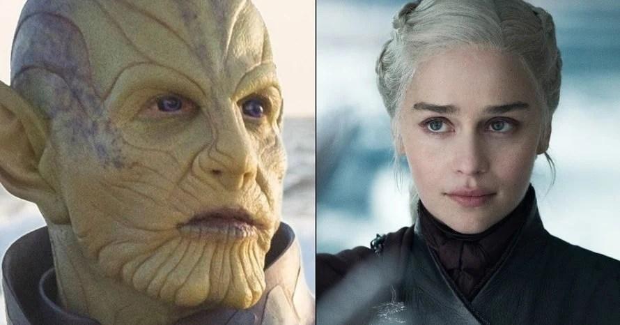 Emilia Clarke Game of Thrones Secret Invasion Talos Captain Marvel
