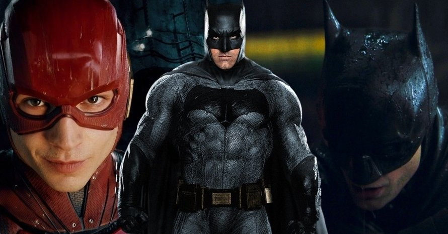 Ezra Miller The Flash Robert Pattinson Batman Ben Affleck DCEU