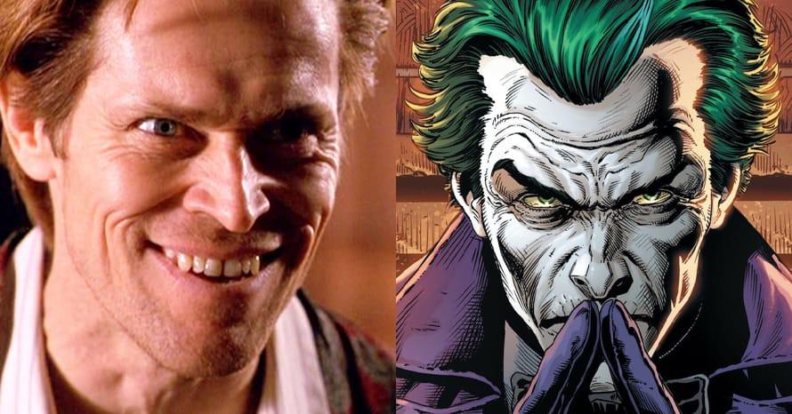 See Willem Dafoe As The Joker For Robert Pattinson's 'The Batman'