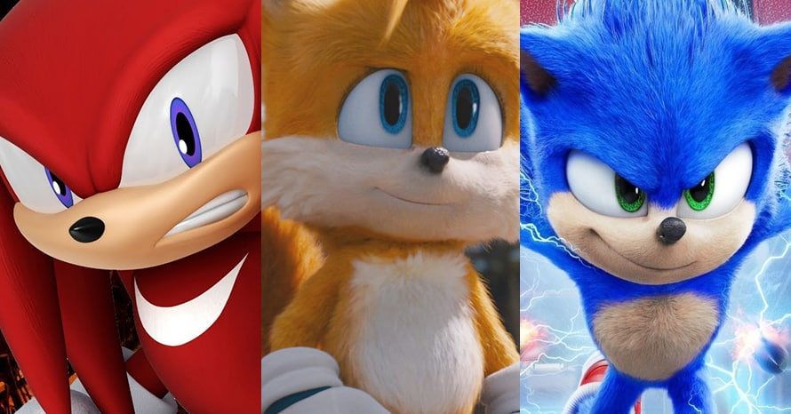 Knuckles Tails Sonic the Hedgehog