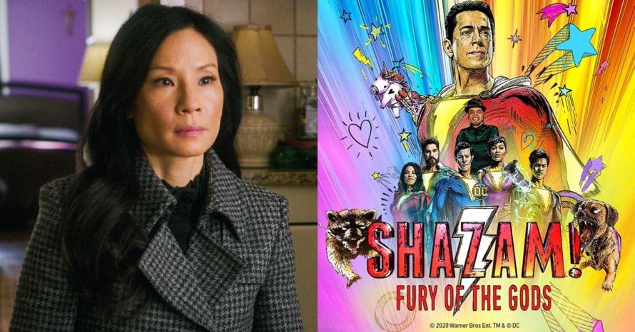 Lucy Liu Shazam Fury of the Gods Zachary Levi