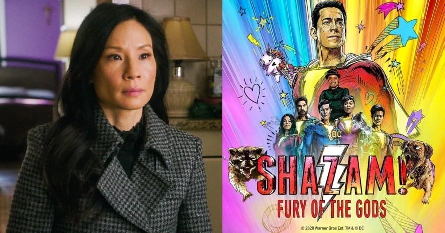 Lucy Liu Joins Zachary Levi's 'Shazam!: Fury of the Gods'